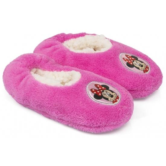 2430a87a4a2 Minnie Mouse slofjes roze anti-slip winkel