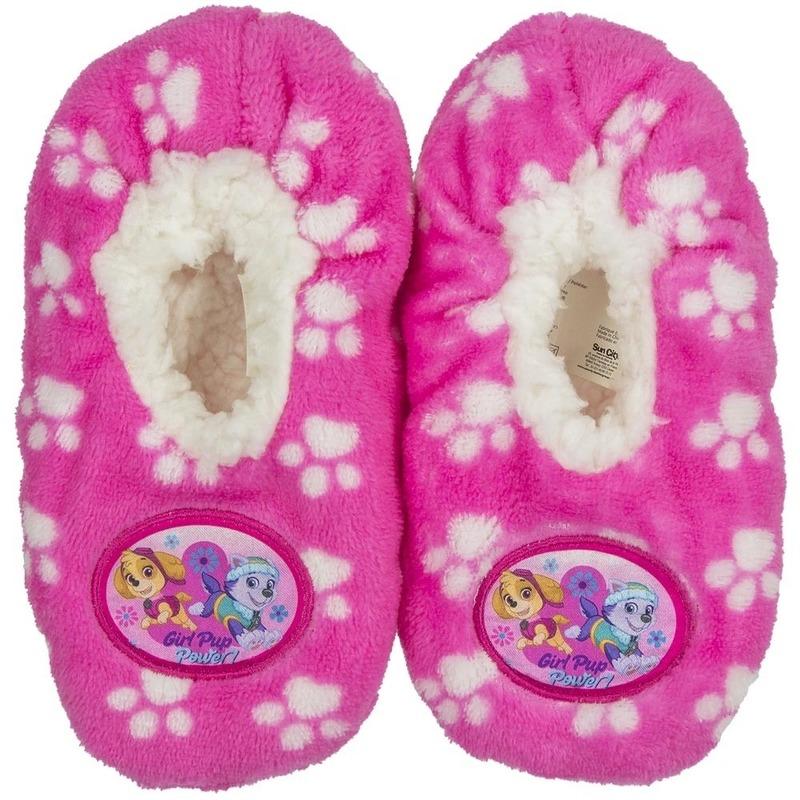 6773d6576ee Paw Patrol slofjes roze anti-slip voor kinderen winkel